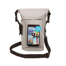 Load image into Gallery viewer, Geckobrands // Waterproof Phone Tote-Accessories-Gecko Brands-Grey-Viso Sun Shop