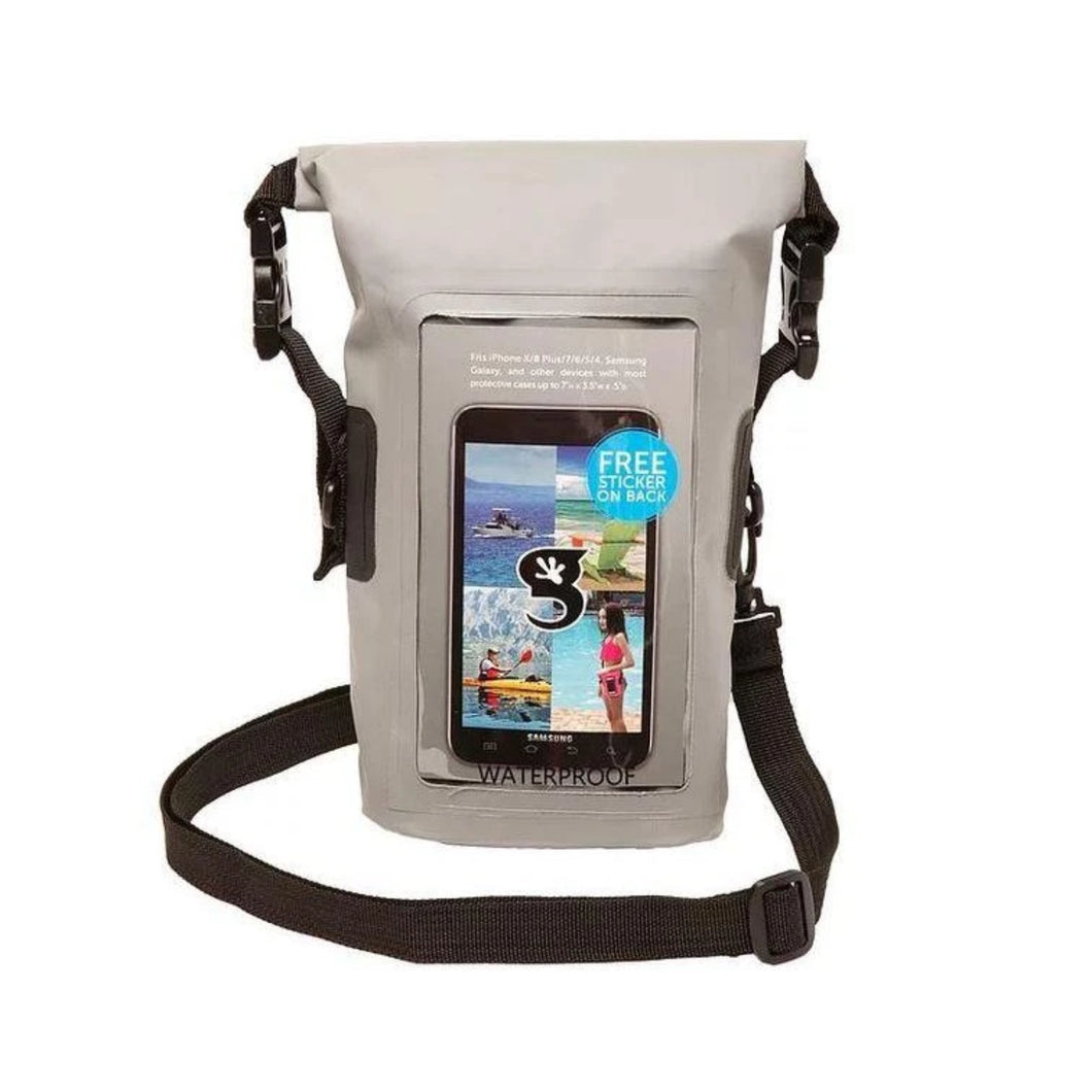 Geckobrands // Waterproof Phone Tote-Accessories-Gecko Brands-Grey-Viso Sun Shop