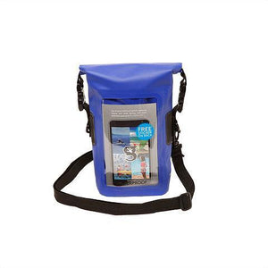 Geckobrands // Waterproof Phone Tote-Accessories-Gecko Brands-Royal Blue-Viso Sun Shop