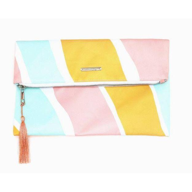 Pura Vida // Clutch - Stripes Not Stripes-Accessories-Puravida-Viso Sun Shop