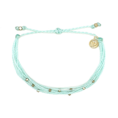Pura Vida // Malibu Bracelet-Accessories-Puravida-Winter Freash/Gold-Viso Sun Shop