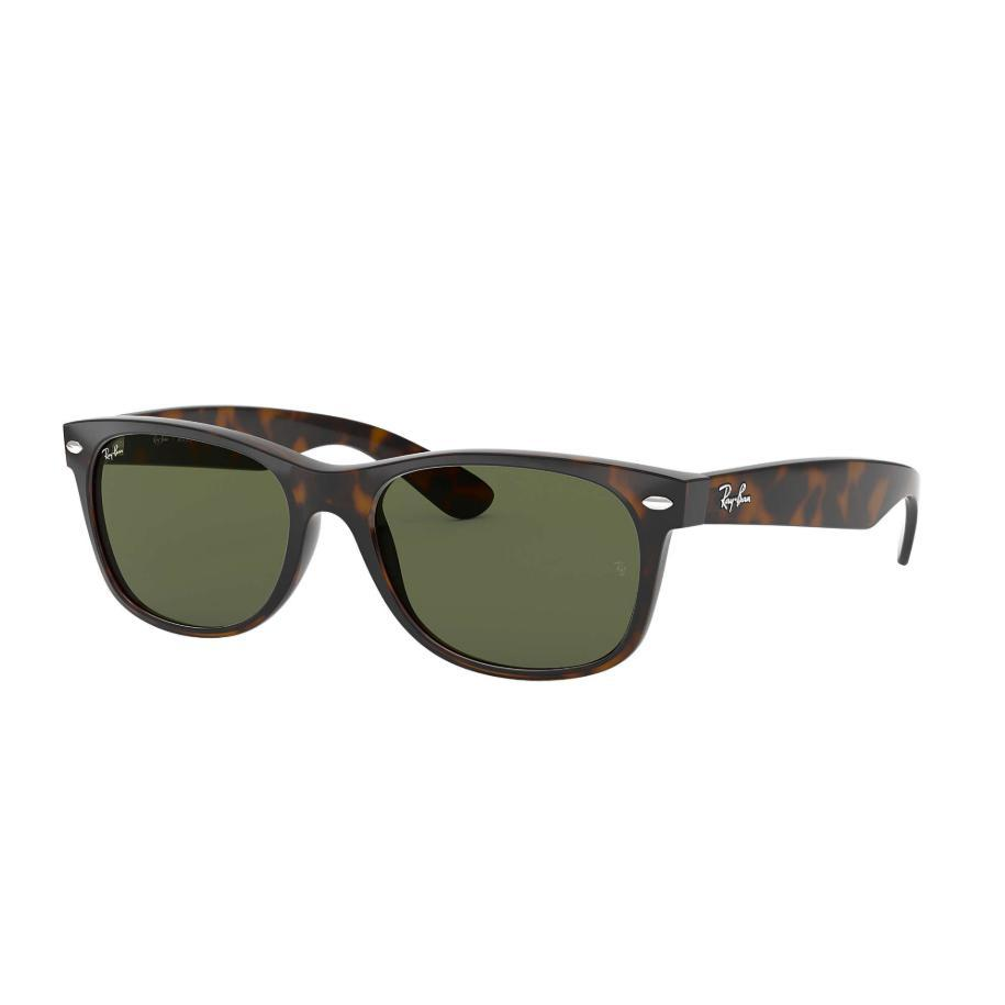 Ray-Ban // RB2132 // NEW WAYFARER CLASSIC (55MM)-Sunglasses-Ray-Ban-55mm-Tortoise/G-15 Lens-Viso Sun Shop
