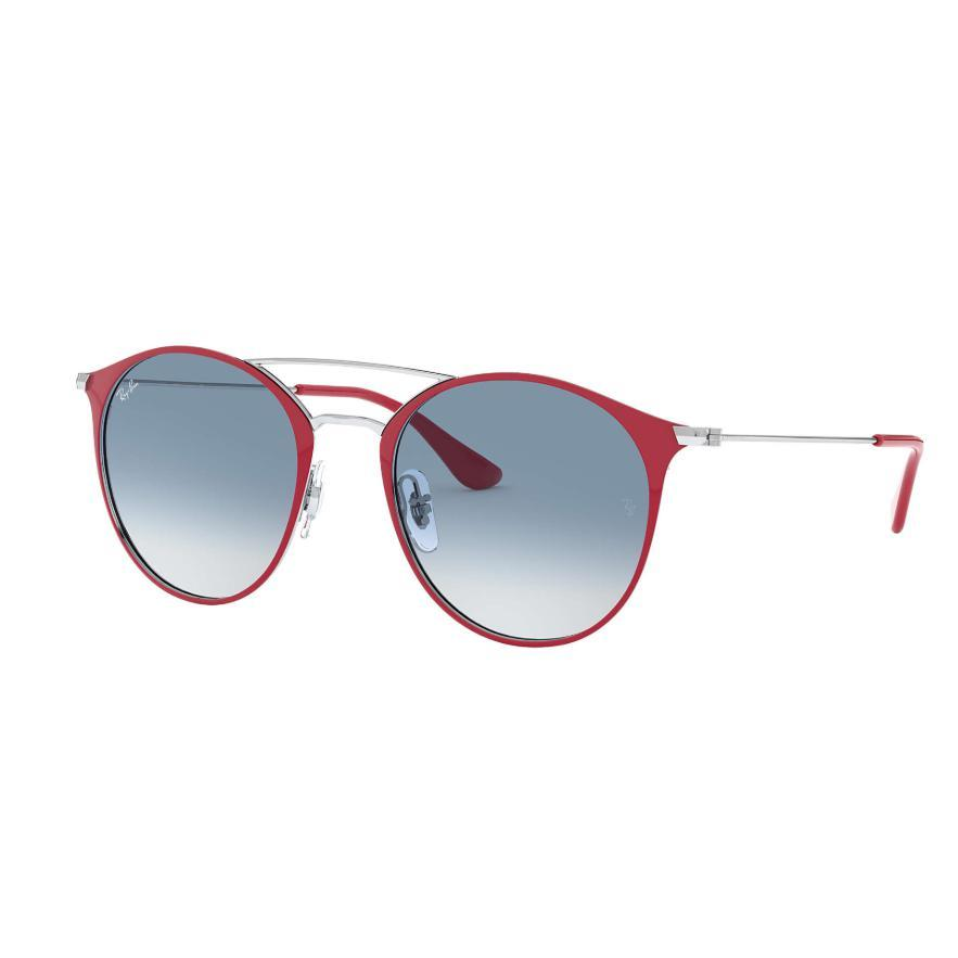 Ray-Ban // RB3546-Sunglasses-Ray-Ban-Bordeaux/Silver Blue Gradient-Viso Sun Shop