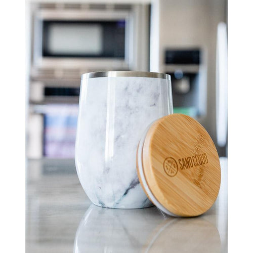 Sand Cloud // 12oz Marble Tumbler-Drinkware-Sand Cloud-Viso Sun Shop