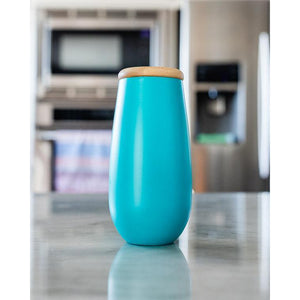 Sand Cloud // 6oz Seafoam Flute-Drinkware-Sand Cloud-Viso Sun Shop