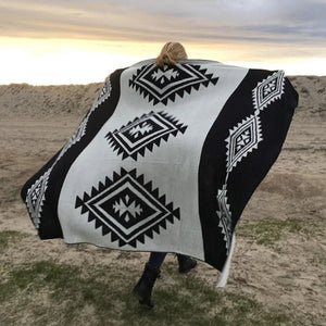 Sand Cloud // Tribal Blanket - Black-Blanket-Sand Cloud-Viso Sun Shop