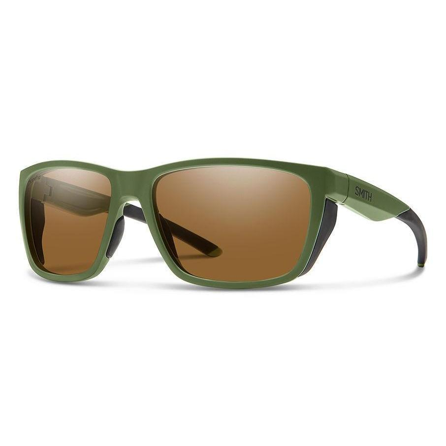 Smith Optics // Longfin-Sunglasses-Smith Optics-Matte Moss/Brown Polarized-Viso Sun Shop