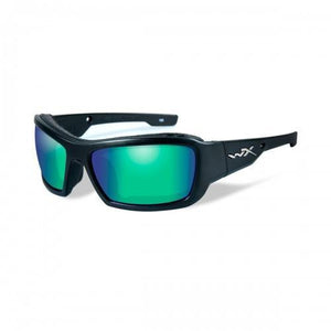 Wiley X // Knife-Sunglasses-Wiley X-Matte Blk/Pol Emerald-Viso Sun Shop