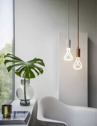 Plumen 001 LED Bulb And Plumen Pendant Set 8 Pendant Multipack