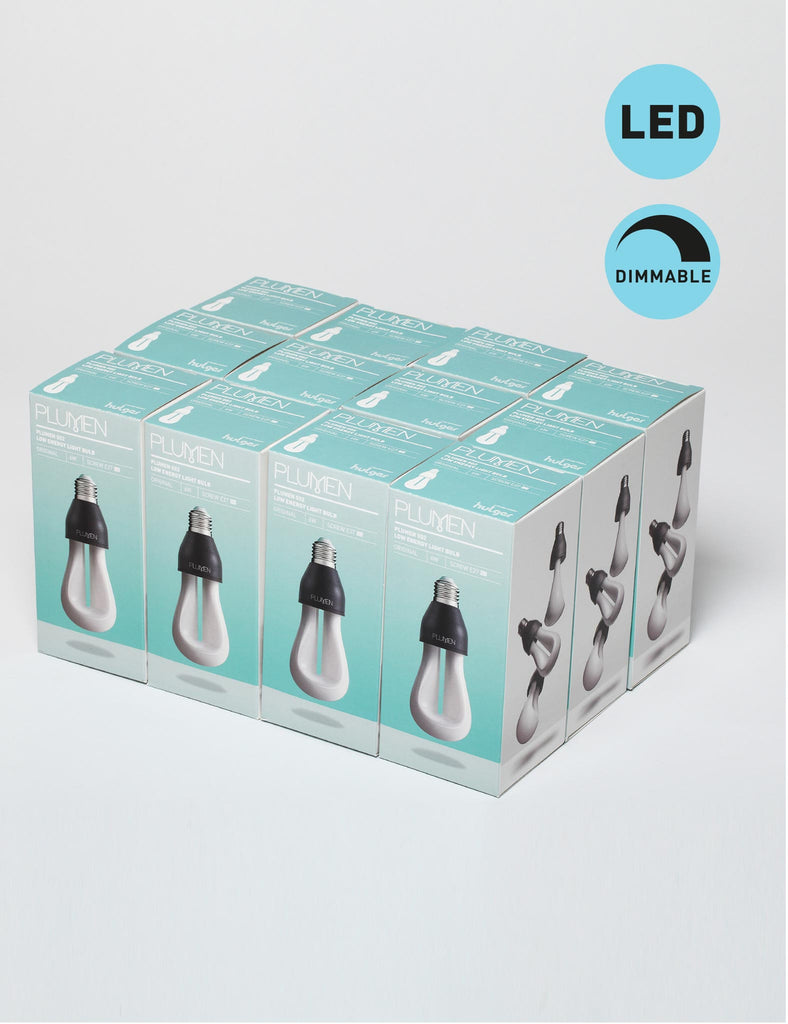 Original Plumen 002 Dimmable LED Multipack - 12 Bulbs