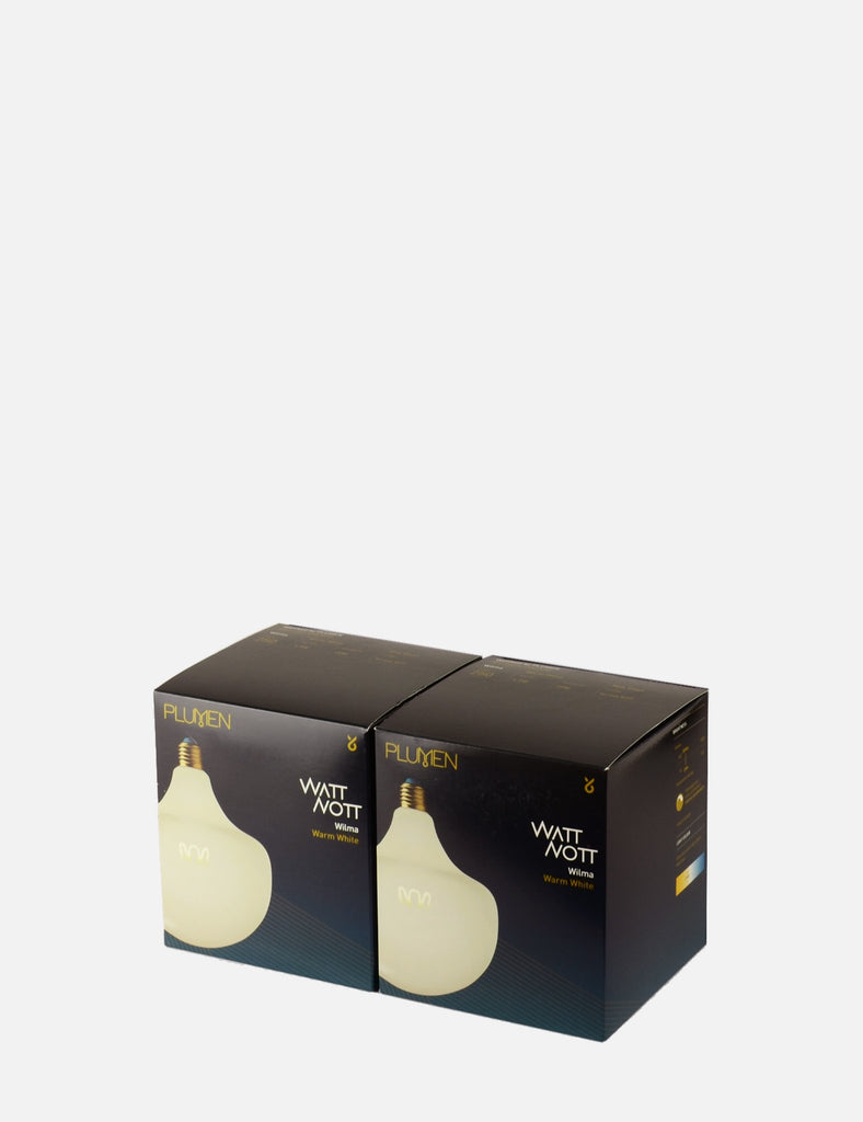 Wilma Milky Dimmable LED 2 Bulb Multipack