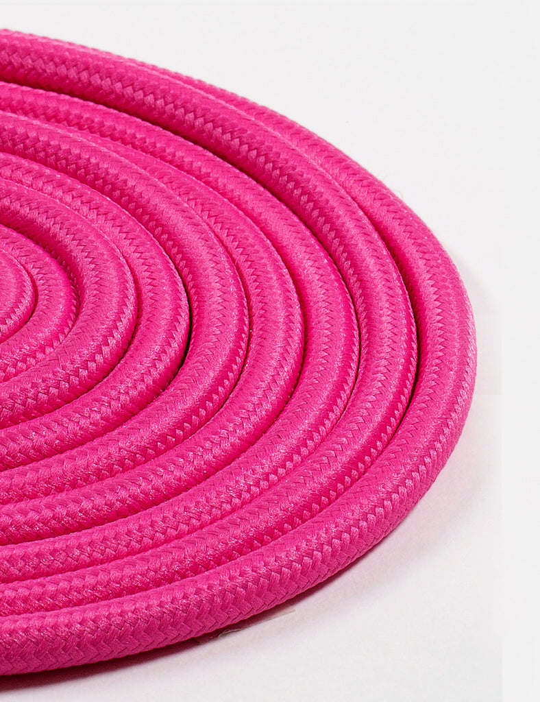 Fabric Cable Fuchsia Pink