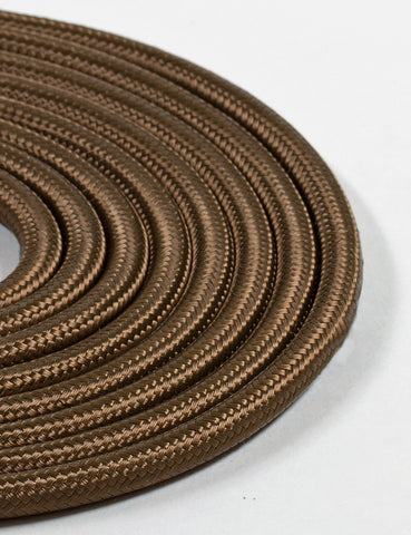 Fabric Cable Olive Brown