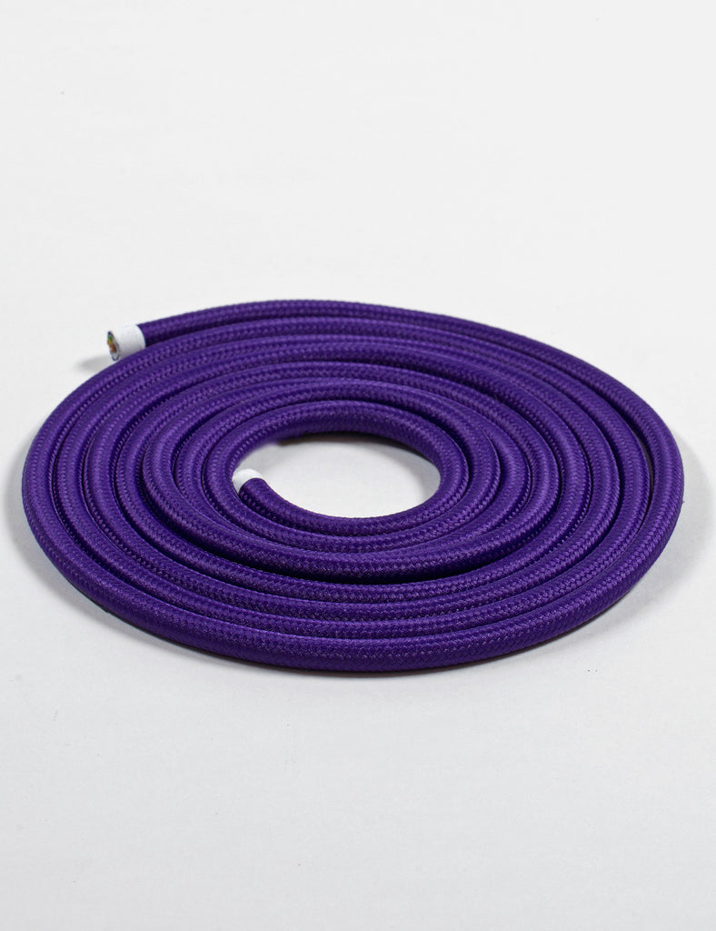 Fabric Cable Purple