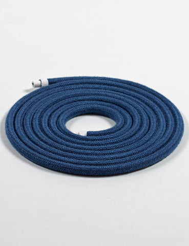 Fabric Cable Blue Linen