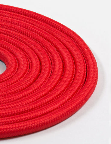 Fabric Cable Bright Red