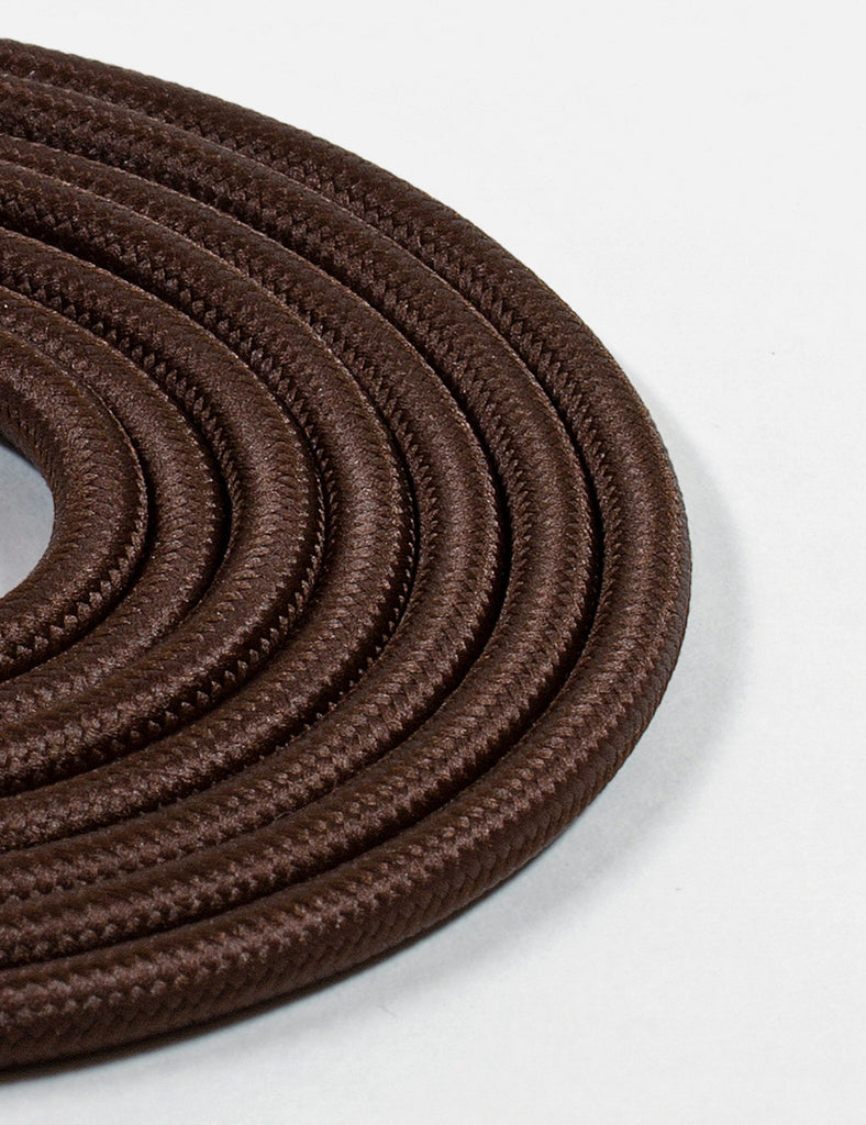 Fabric Cable Dark Brown