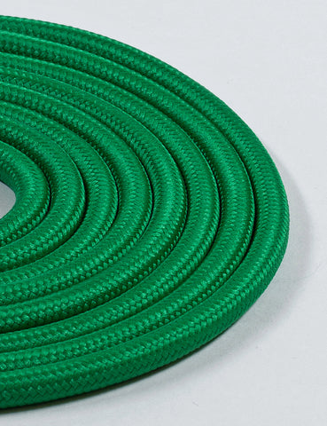 Fabric Cable Pea Green