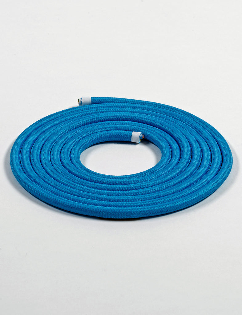 Fabric Cable Bright Blue