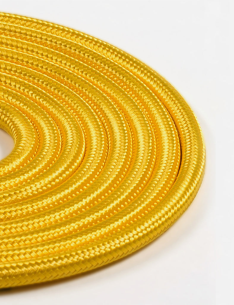 Fabric Cable Yellow