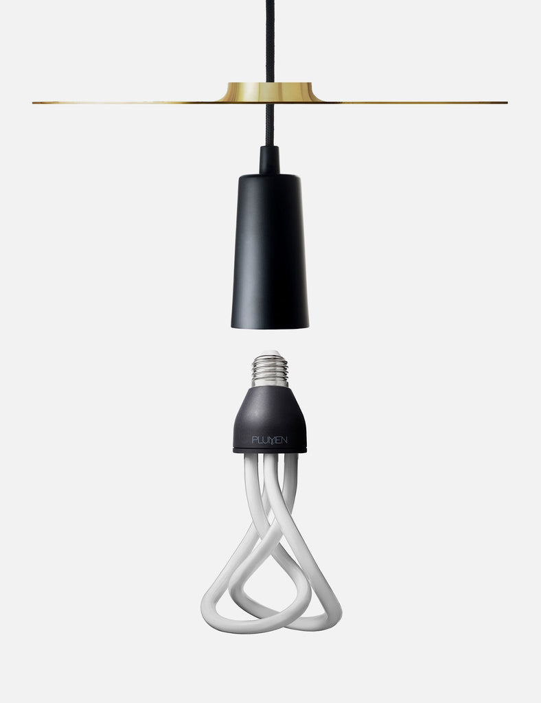 modular lighting assembly with drop hat drop cap and 001 light bulb