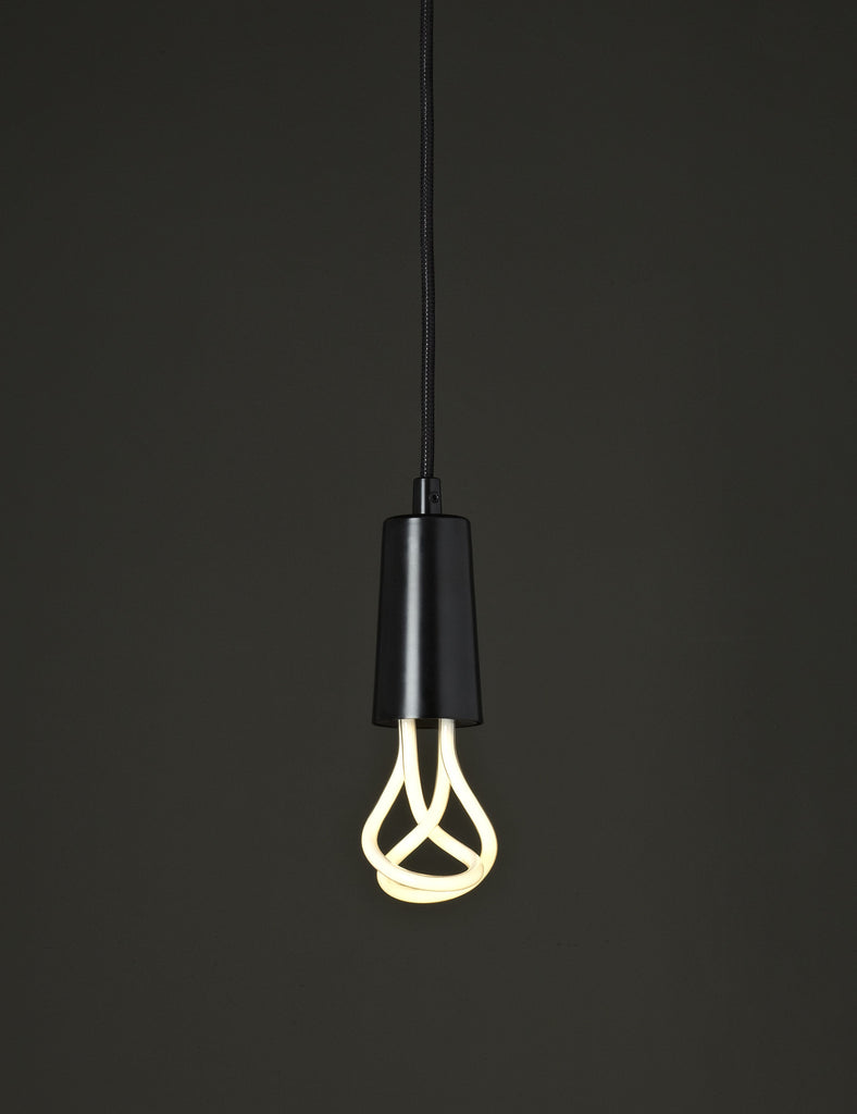 Drop Cap Pendant - Black