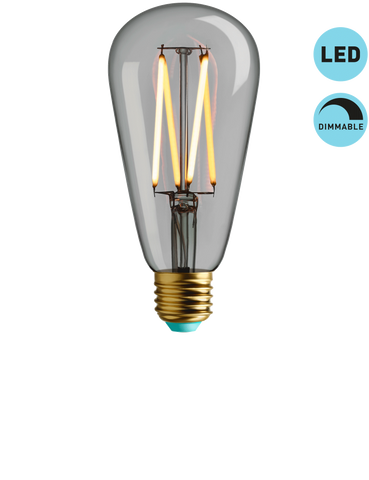 WILLIS - WARM WHITE LIGHT - DIMMABLE LED (CLEAR)