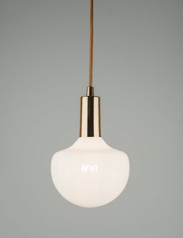 Plumen Pendant and Wilma Milky 4 Pendant Set Multipack