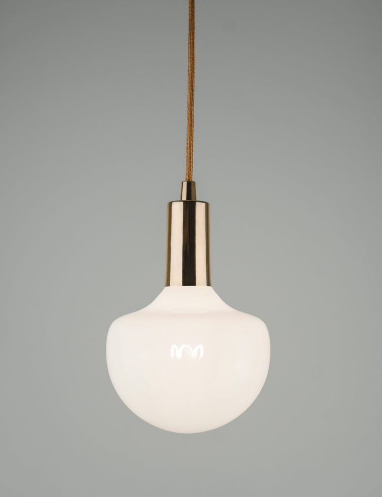 Plumen Pendant and Wilma Milky 2 Pendant Set Multipack