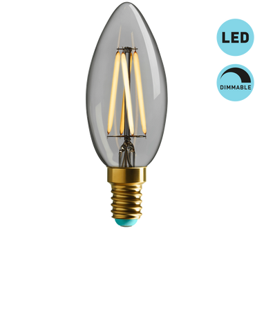 WINNIE - WARM WHITE LIGHT - DIMMABLE LED (CLEAR)