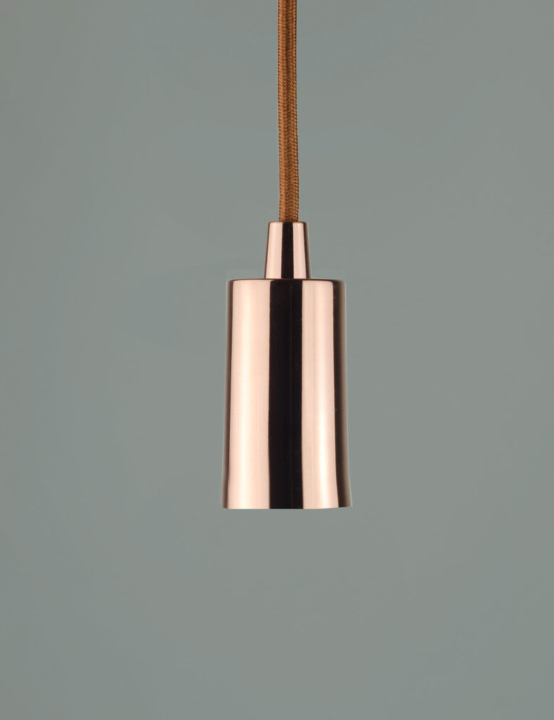 Plumen Pendant and Wilma Milky Light Bulb