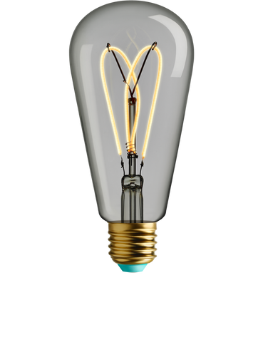 Whirly Willis - LED Filament Light Bulb