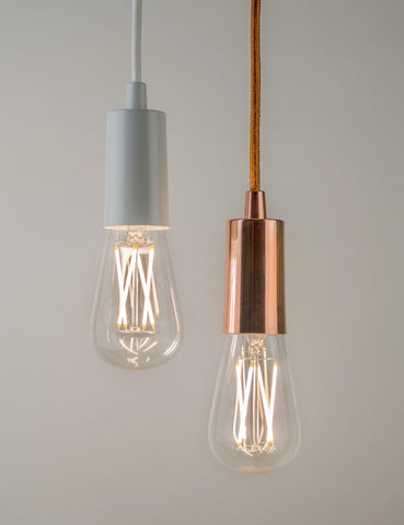 Willis Dimmable LED and Copper Plumen Pendant