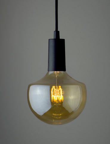 Plumen Pendant and WattNott Wilma Dimmable LED Light Bulb