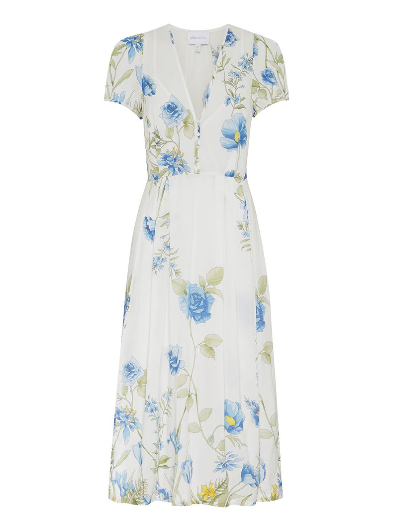 FLOWER GIRL MIDI DRESS
