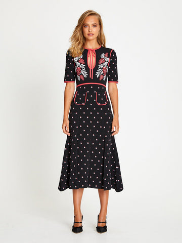 LADY DAY MIDI DRESS