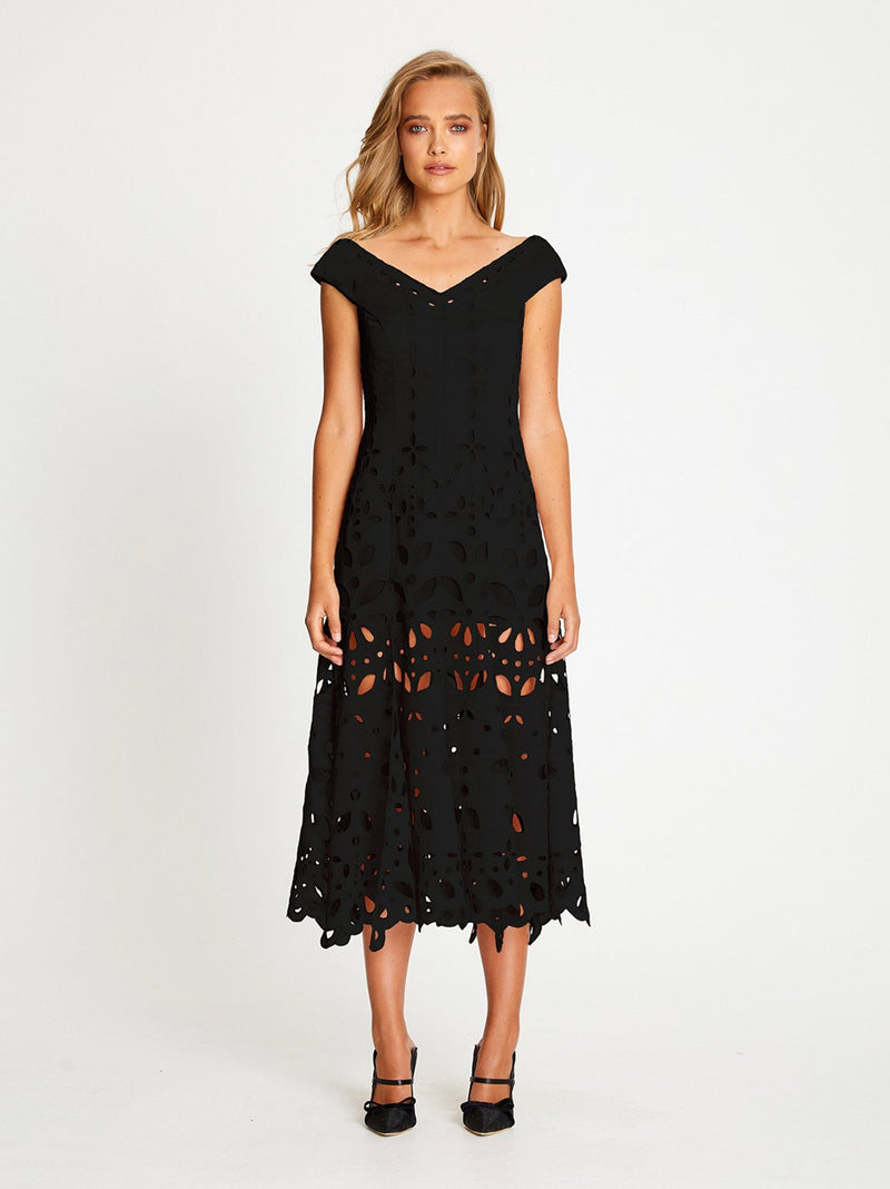 BAUDELAIRE MIDI DRESS