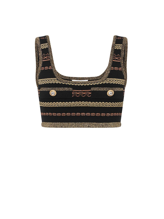 BLACK MAGIC CROP TOP