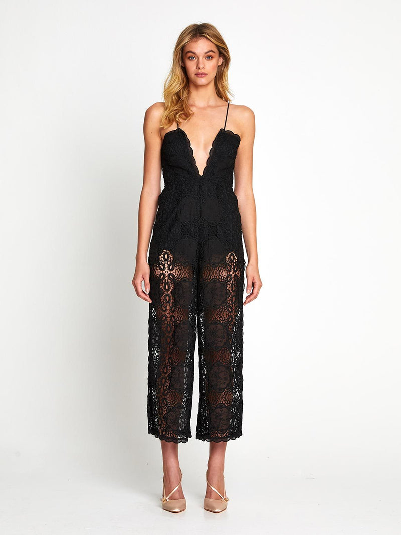 DIAMOND VEINS JUMPSUIT
