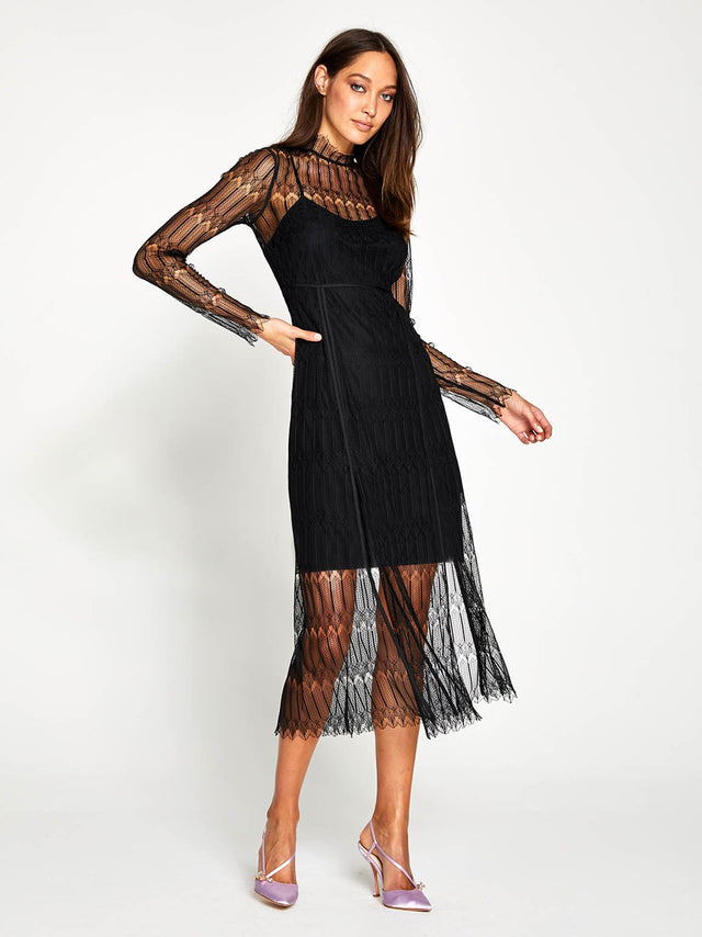 DO MAGIC MIDI DRESS