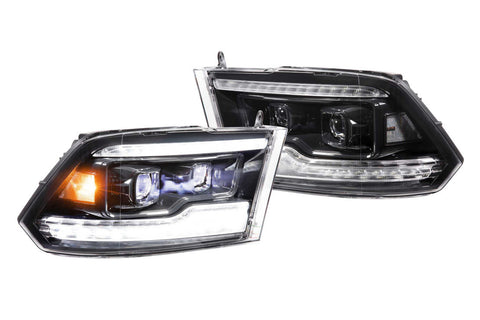 DODGE RAM (09-18): XB LED HEADLIGHTS - Precision Retrofits