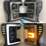2017 Super Duty LED Headlights
