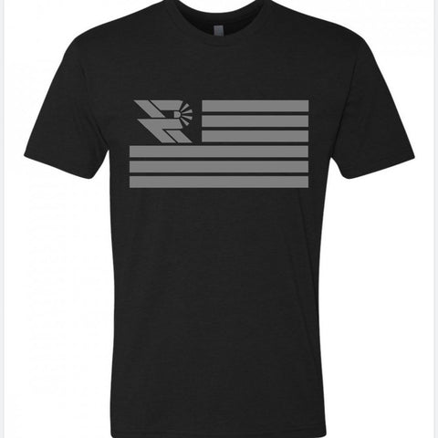 Flag Logo Shirt - Precision Retrofits