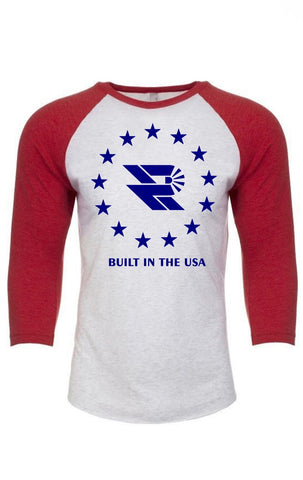 Star Logo Raglan 3/4 Sleeve Shirt