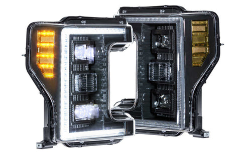 FORD SUPER DUTY (17-19): XB HYBRID LED HEADLIGHTS - Precision Retrofits