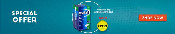 Nicotinell 2mg Mint Lozenge 96 Pack Offer - Medipharm.ie