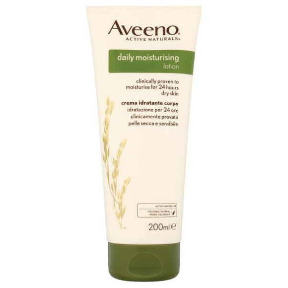 Aveeno - Daily Moisturising Lotion Fragrance Free - 200ml - Medipharm Online - Cheap Online Pharmacy Dublin Ireland Europe Best Price