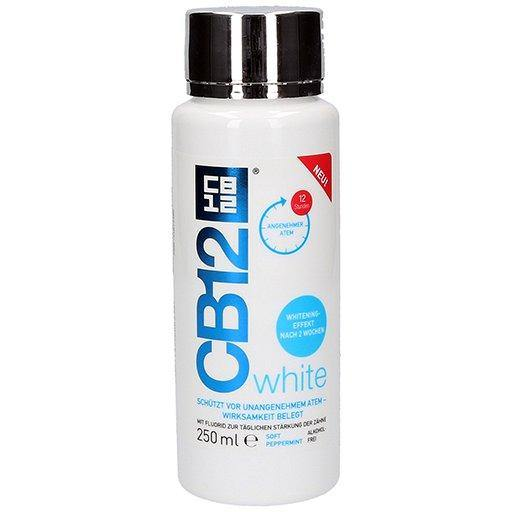 CB12 - Mouthwash White - 250ml - Medipharm Online - Cheap Online Pharmacy Dublin Ireland Europe Best Price