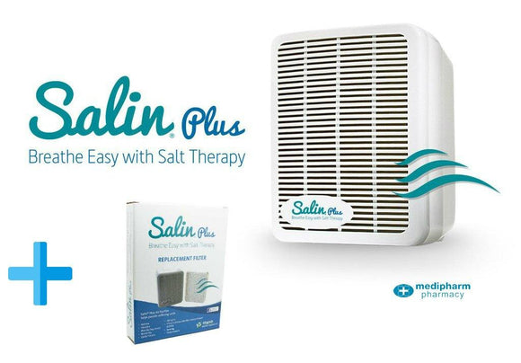 Salin Plus Breathe Easy Salt Therapy - Medipharm Online - Cheap Online Pharmacy Dublin Ireland Europe Best Price