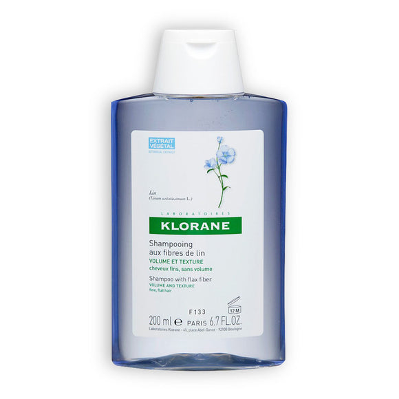 Klorane - Flax Fibres Shampoo - 200ml - Medipharm Online - Cheap Online Pharmacy Dublin Ireland Europe Best Price